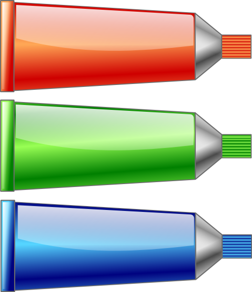 free vector Red Green Blue Colors clip art