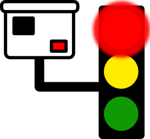 free vector Red Light Camera clip art