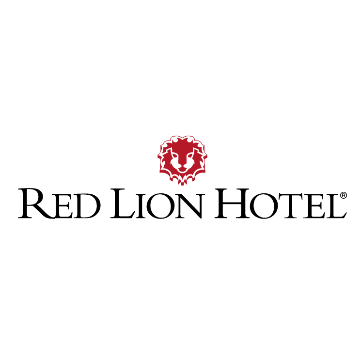 free vector Red lion hotel