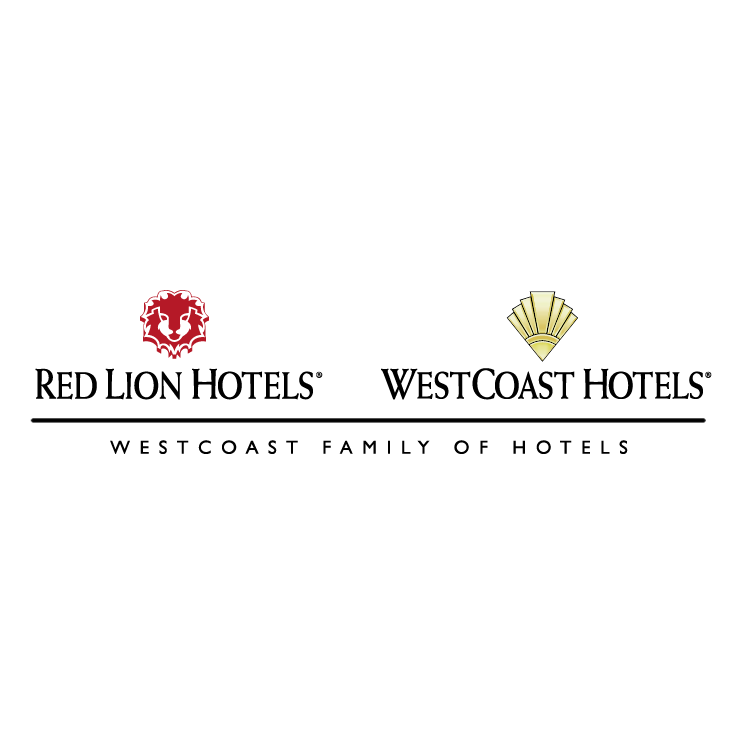 free vector Red lion hotels westcoast hotels