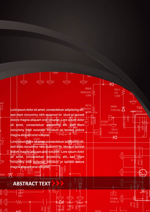 free vector Red plate background vector