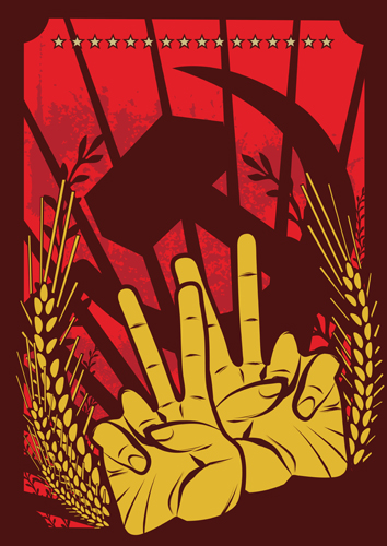 free vector Red revolution illustrator vector