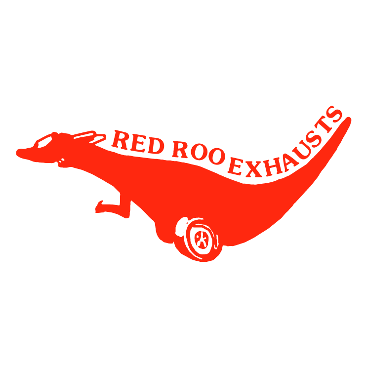 free vector Red roo exhausts
