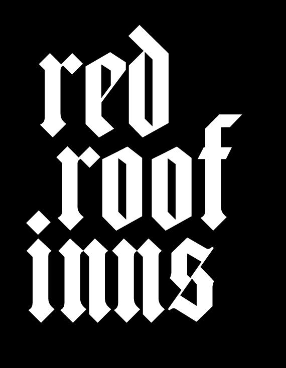 red roof inns logo free vector / 4vector