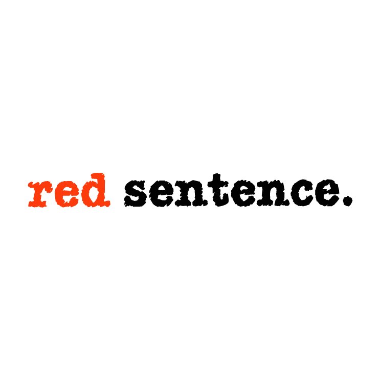free vector Red sentence