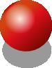 free vector Red Shiney Ball clip art