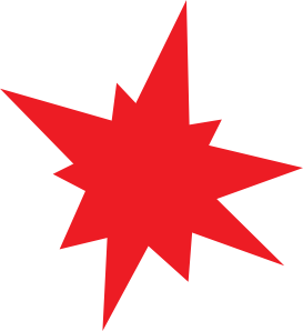 free vector Red Star clip art
