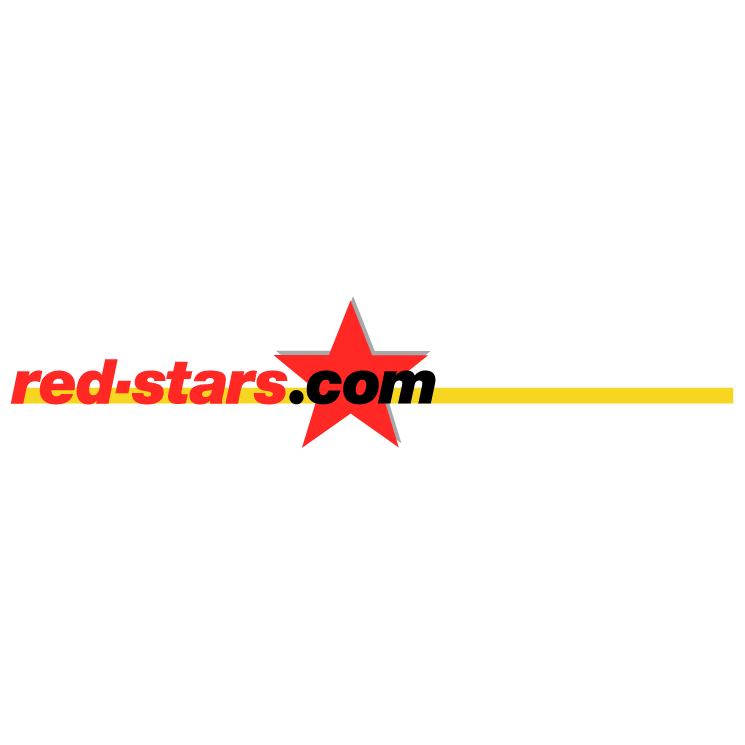 free vector Red starscom