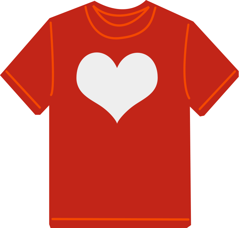 free vector Red T-shirt