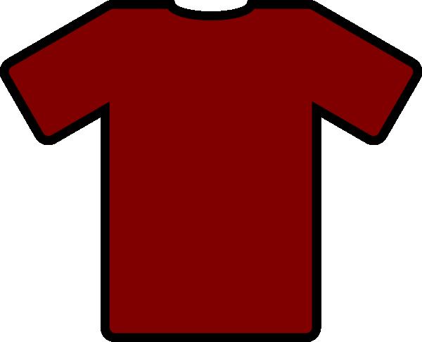 free vector Red Tshirt clip art