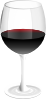 free vector Red Wine Glass clip art