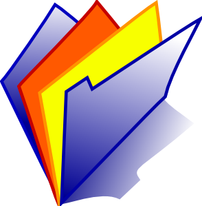 free vector Red Yellow Folder Icon clip art