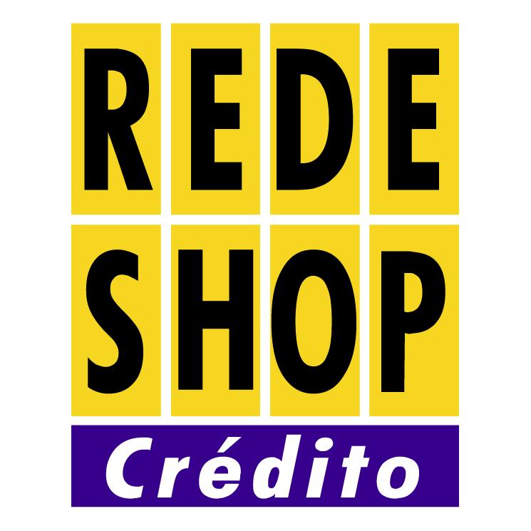 free vector Rede shop credito