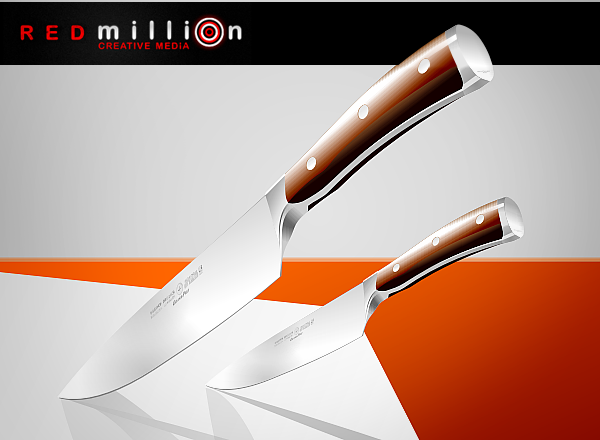 free vector REDmillion  KNIVES