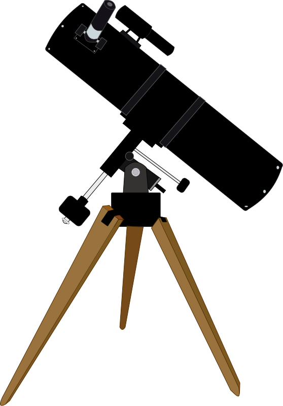 free vector Reflector telescope