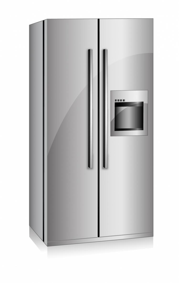 Refrigerator Vector Related Keywords & Suggestions - Refrigerator ...