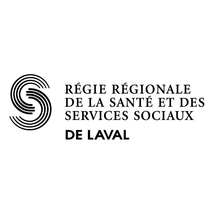 free vector Regie regionale de la sante et des services sociaux de laval