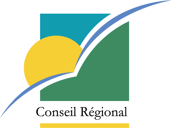 free vector Region Guadeloupe logo