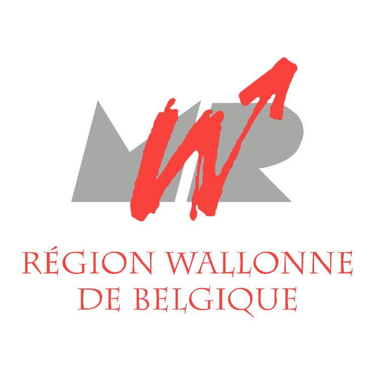 free vector Region wallonne de belgique