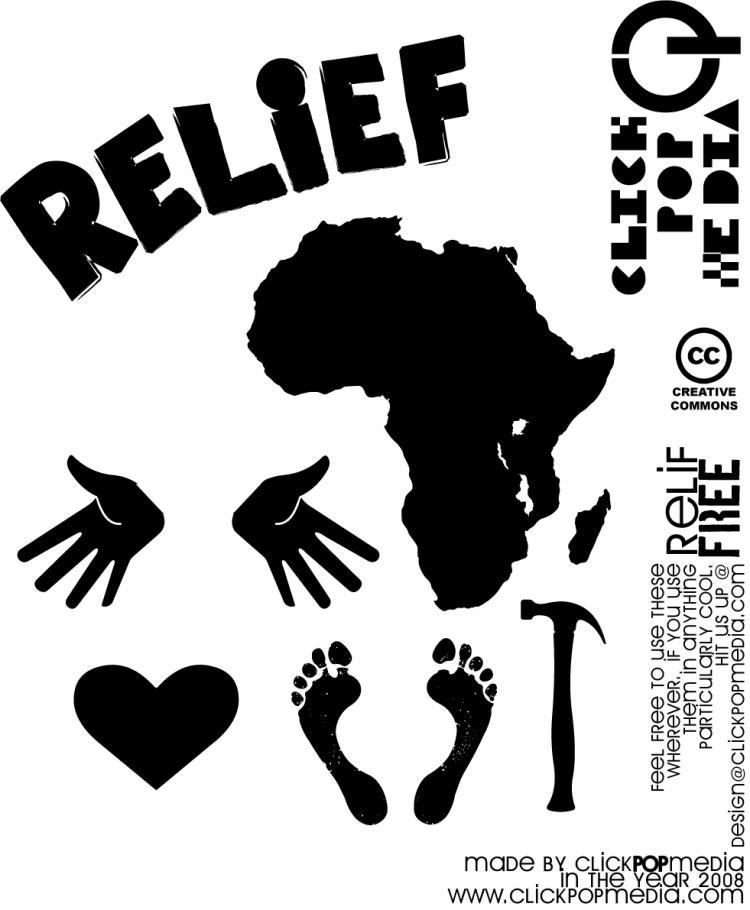 free vector  Relief