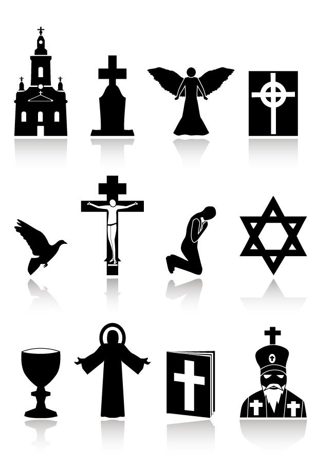 free vector Religious theme vector
