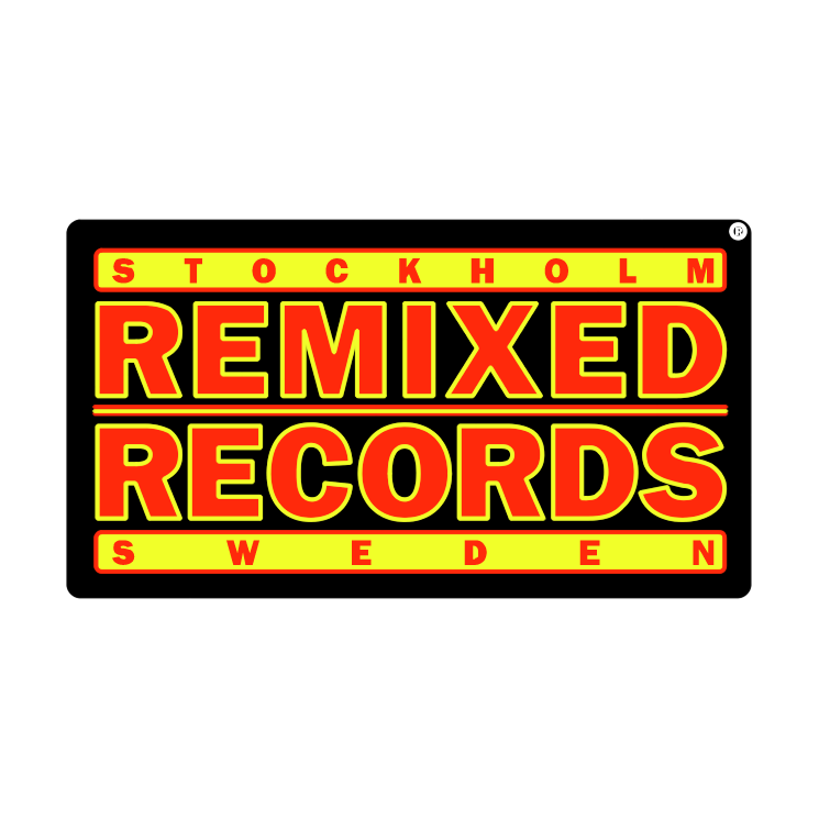 free vector Remixed records