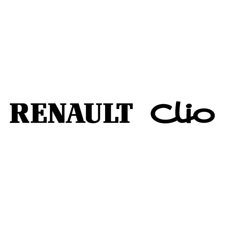 free vector Renault clio