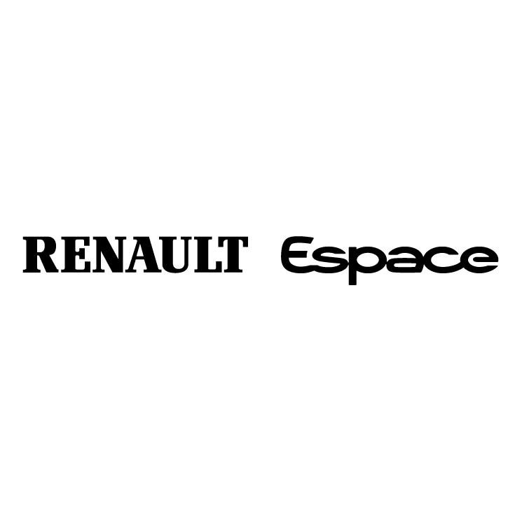 free vector Renault espace