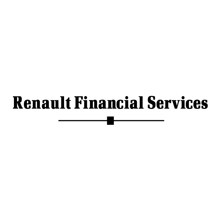 free vector Renault financial services