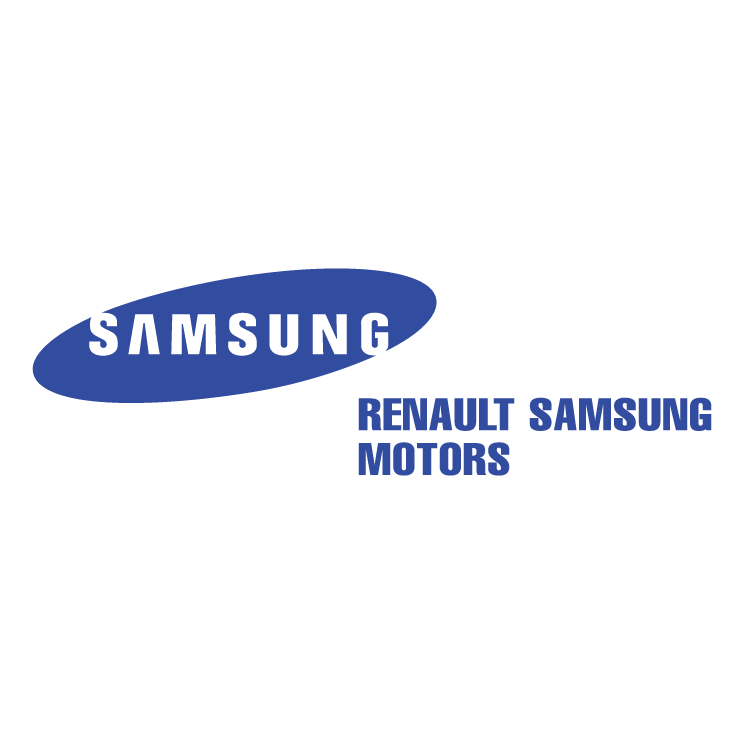 free vector Renault samsung motors