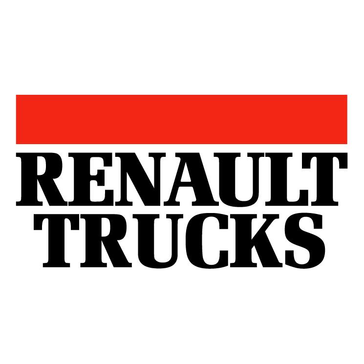 free vector Renault trucks