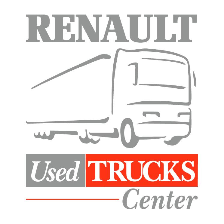 free vector Renault used trucks center