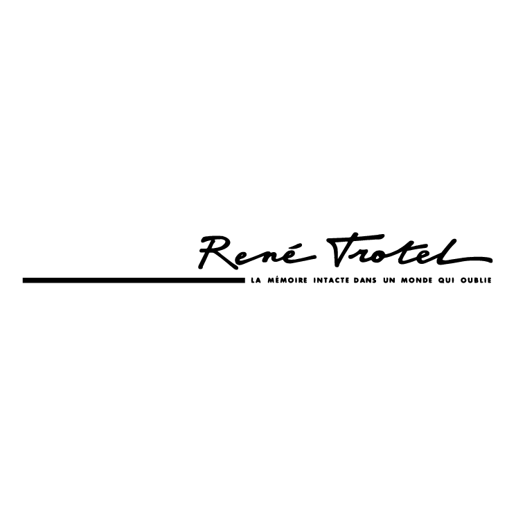 free vector Rene trotel