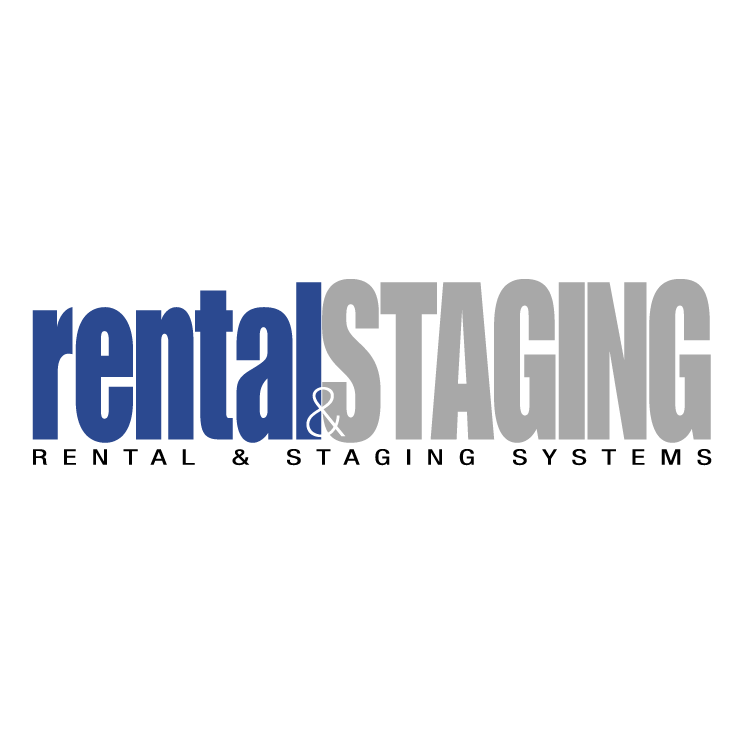 free vector Rental staging systems