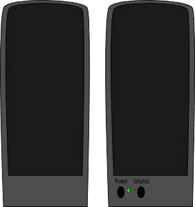 free vector Reproduktory clip art