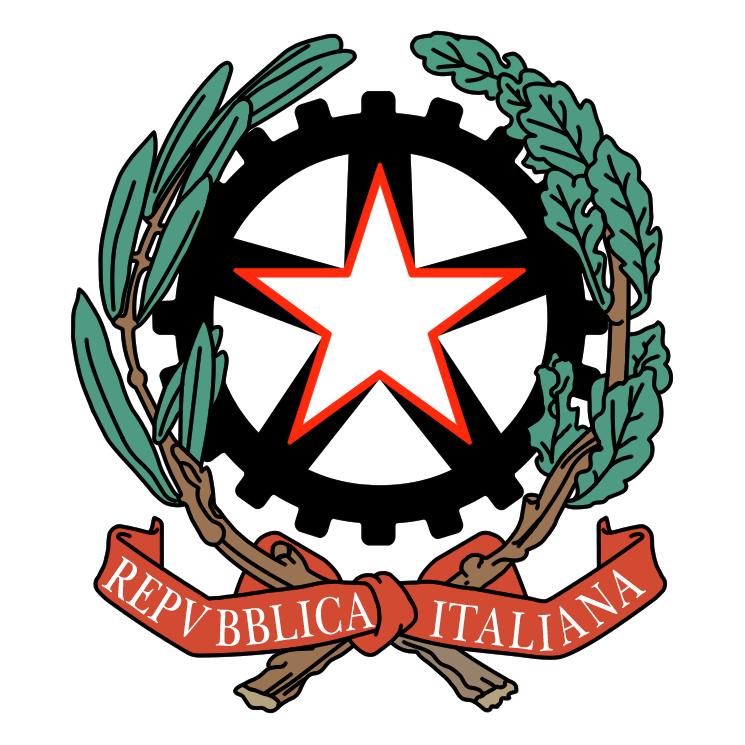 free vector Repubblica italiana 1