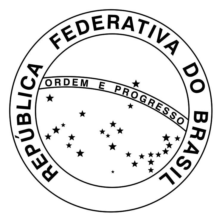 free vector Republica federativa do brasil