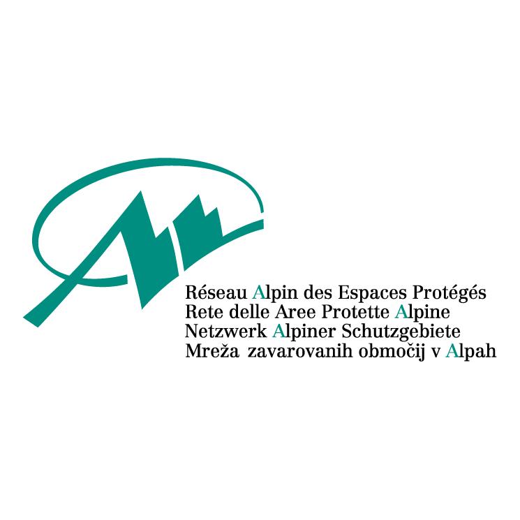 free vector Reseau alpin des espaces proteges