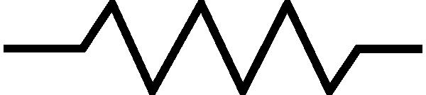 free vector Resistor Symbol clip art