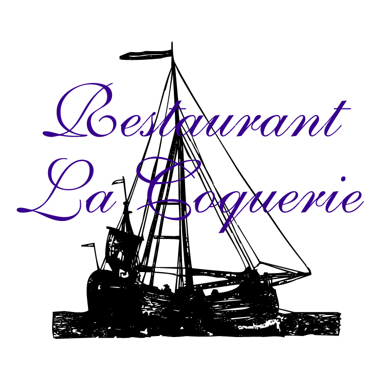 free vector Restaurant la coquerie