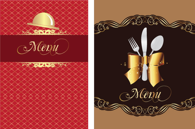 free vector Restaurant menu 01 vector