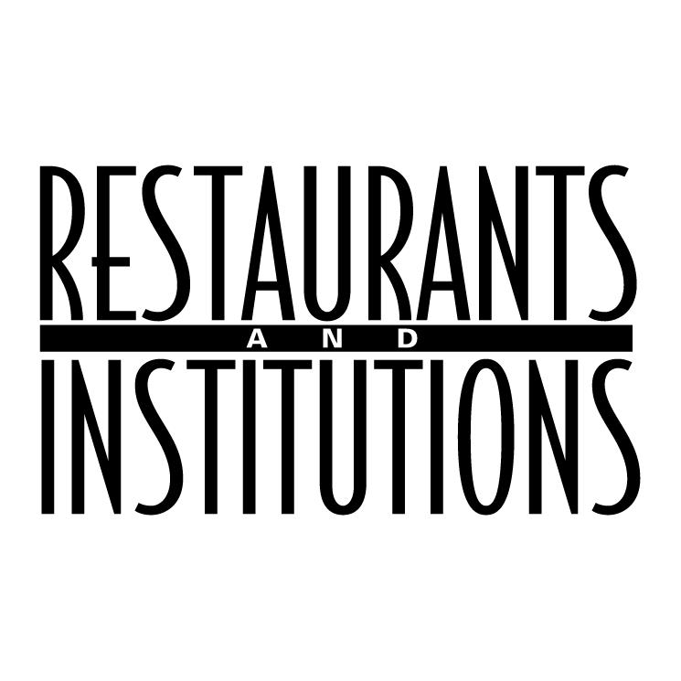 free vector Restaurants institutions
