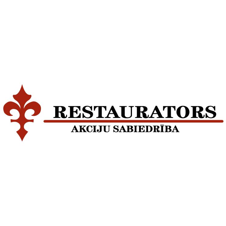 free vector Restaurators