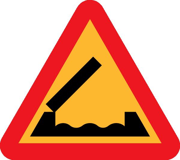 Retractable Bridge Roadsign clip art (110457) Free SVG ...