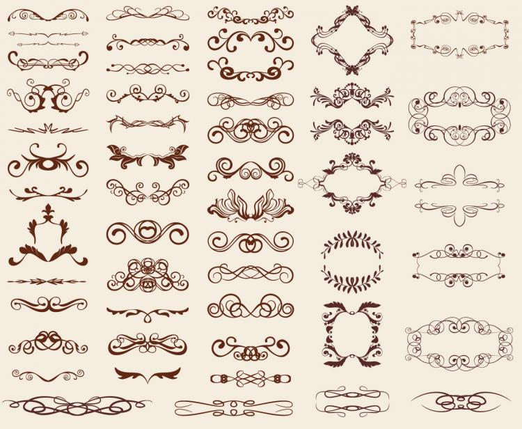 free vector Retro Design Elements