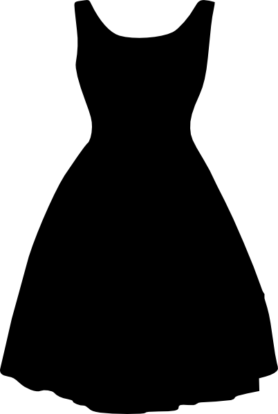 free vector Retro Dress clip art