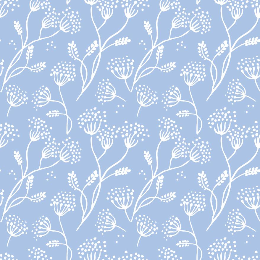 Retro floral pattern 01 vector Free Vector / 4Vector