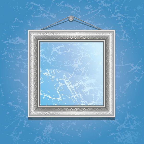 free vector Retro frame vector
