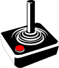 free vector Retro Joystick clip art