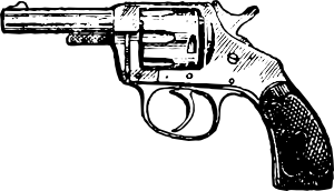 free vector Revolver clip art
